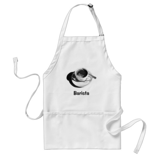 svg free Barista pencil coffee cup. Apron drawing