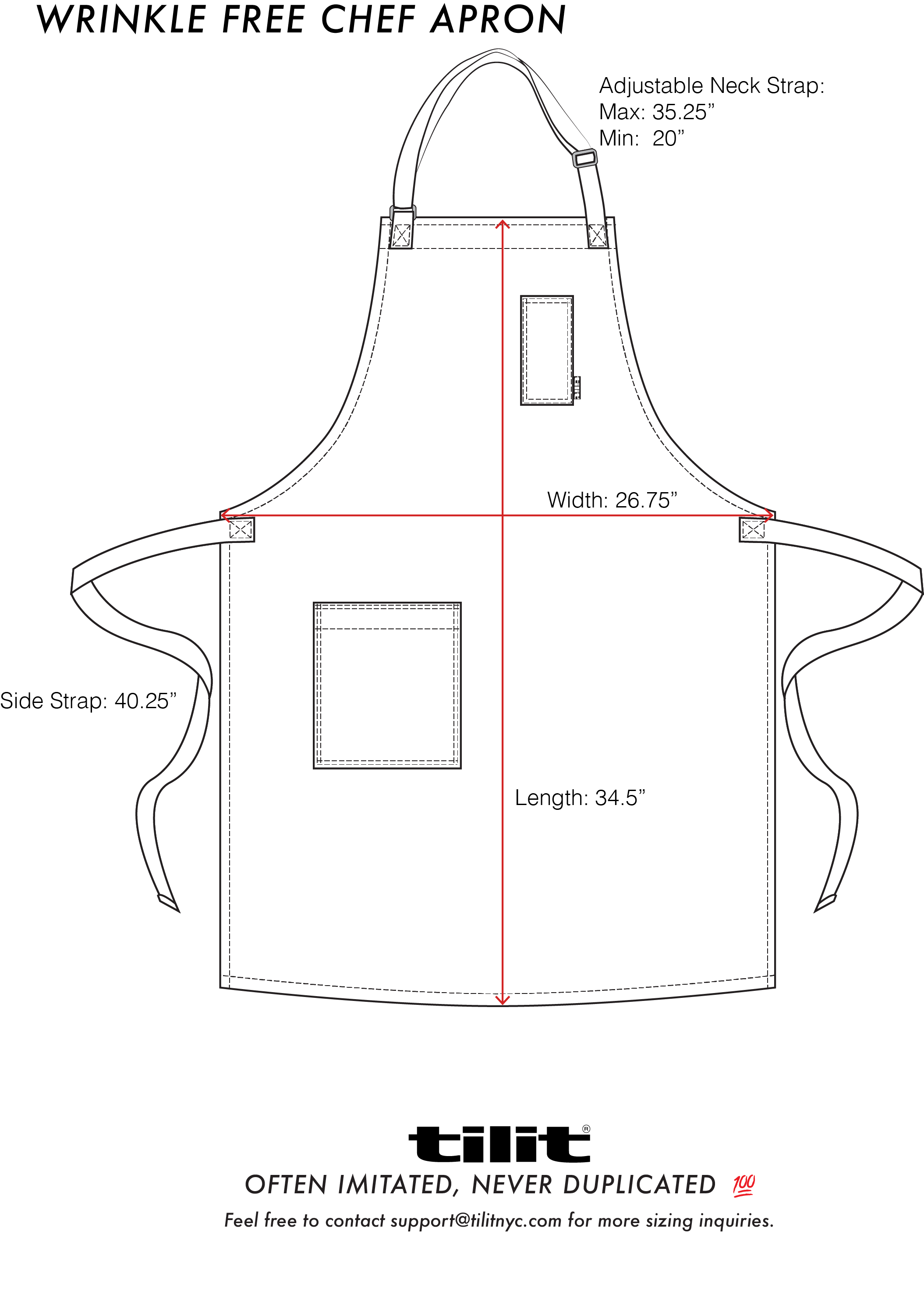 clipart free library Wrinkle Free Chef Aprons