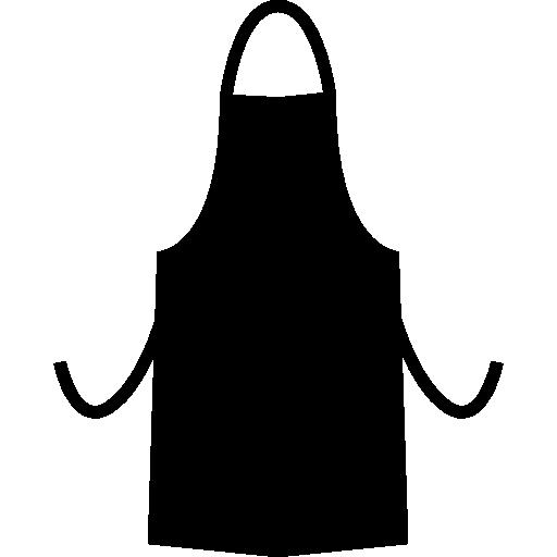 clip free library Apron silhouette