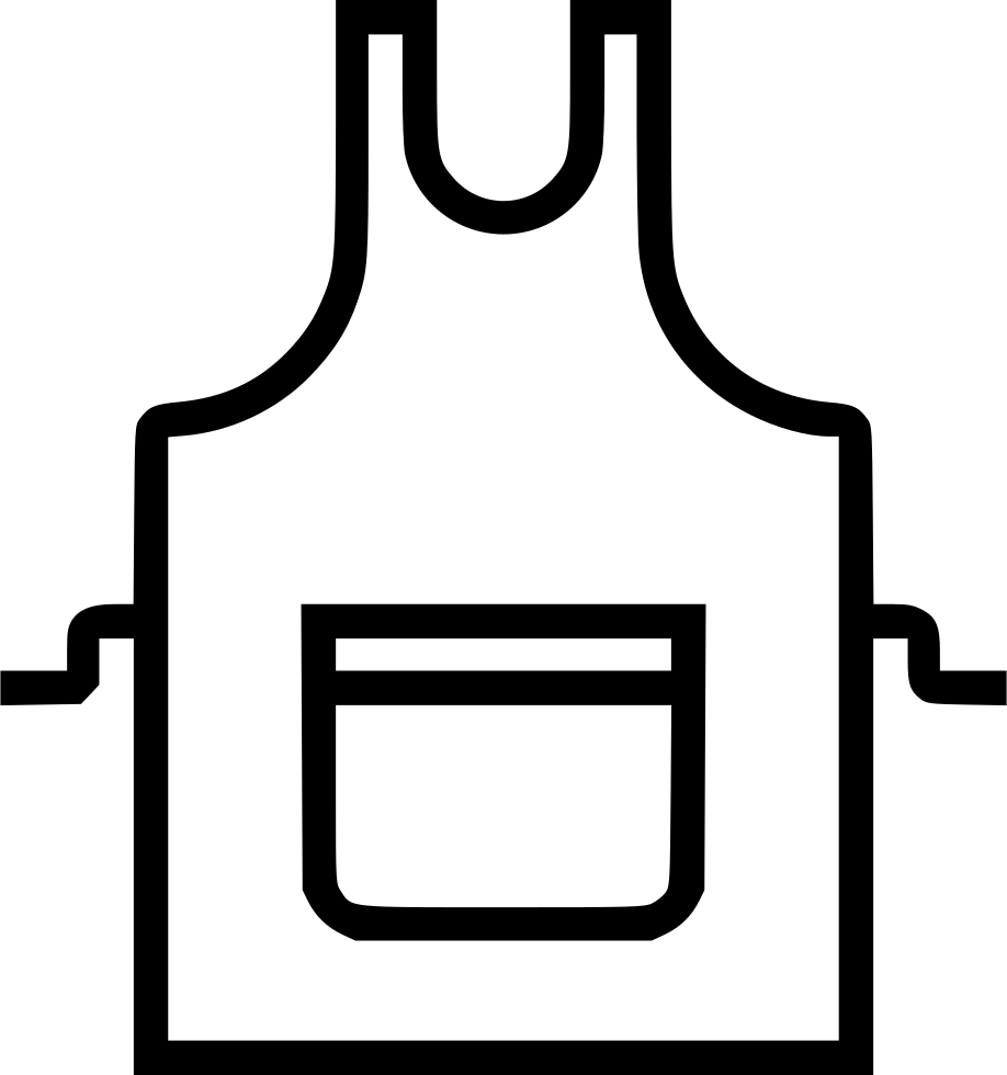 banner free Apron Svg Png Icon Free Download