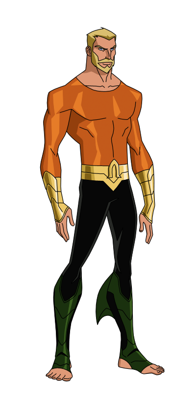 vector black and white library Aquaman