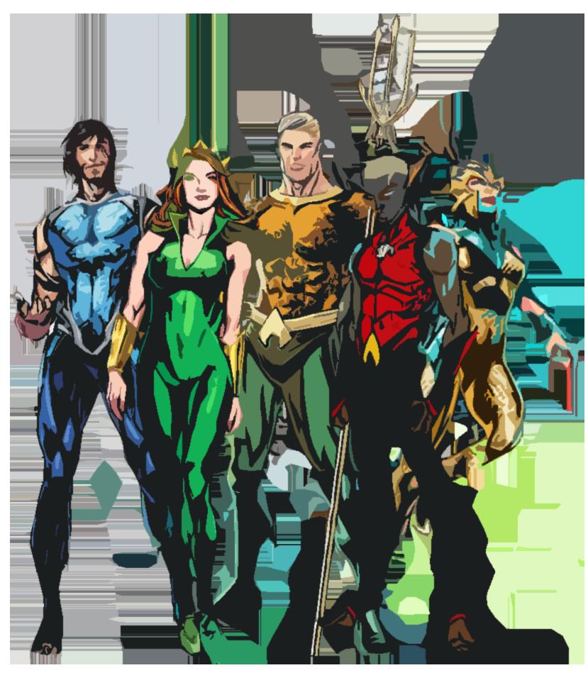vector freeuse The Atlanteans