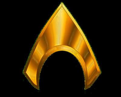 banner royalty free download Aquaman movie logo png