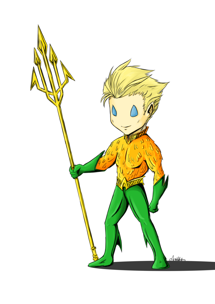 clip freeuse download  collection of cartoon. Aquaman drawing