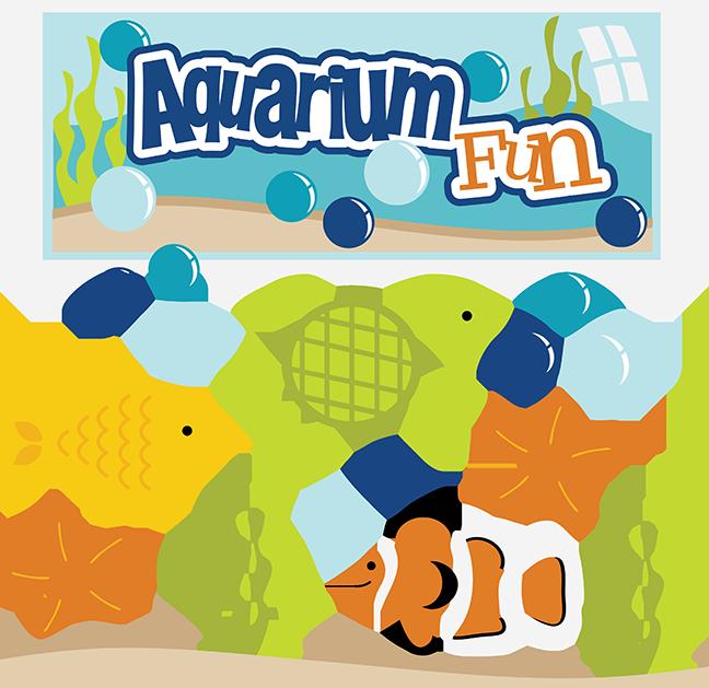 royalty free stock Aquarium clipart aquarium animal