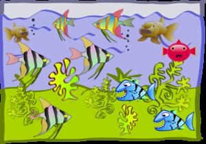 jpg free Fish tank clip art. Aquarium clipart.