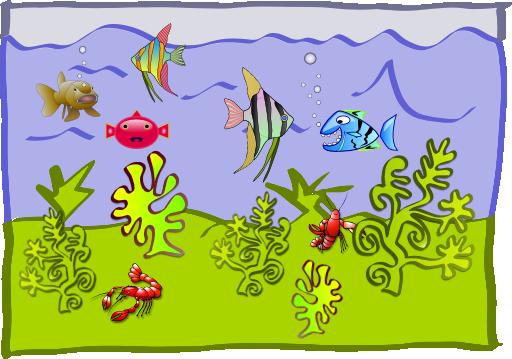 clip art black and white Underwater border clipart. World aquarium i royalty