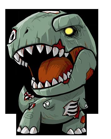 jpg royalty free download Lil Zombie Rex by KevinRaganit