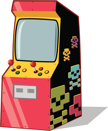 graphic transparent Free cliparts download clip. Arcade clipart