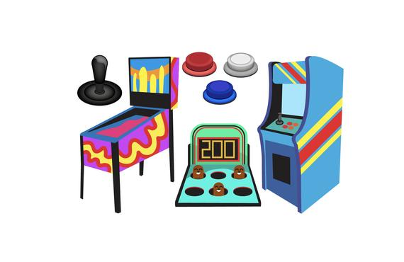 image freeuse library Arcade clipart. Game icons pinball products