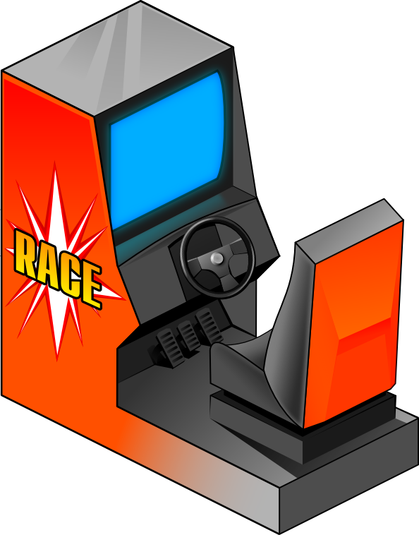 png download Arcade clipart. Racing game recreation games.