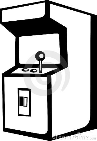svg black and white Portal . Arcade clipart black and white