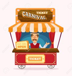 svg free stock Arcade clipart booth. Ticket transparent