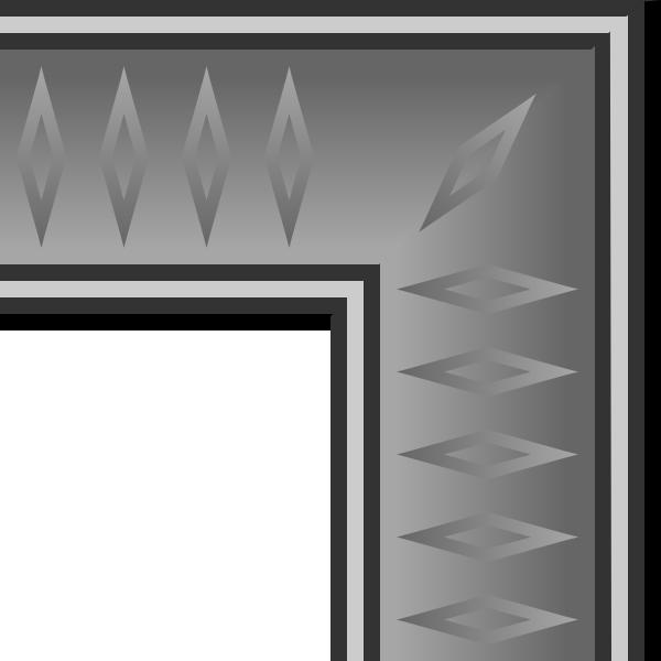 clip art freeuse stock Game map graphite clip. Arcade clipart border.