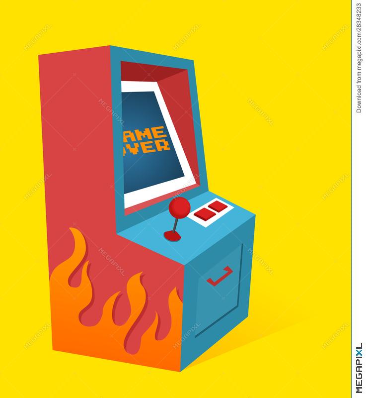 clip download Transparent . Arcade clipart box.