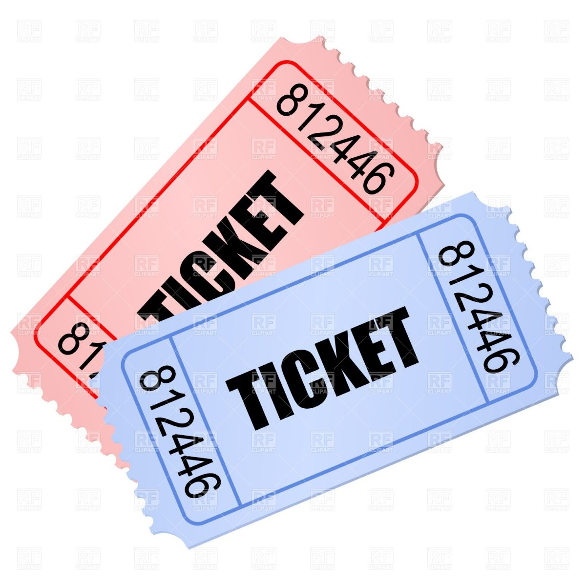 clipart royalty free library . Arcade clipart broadway ticket.
