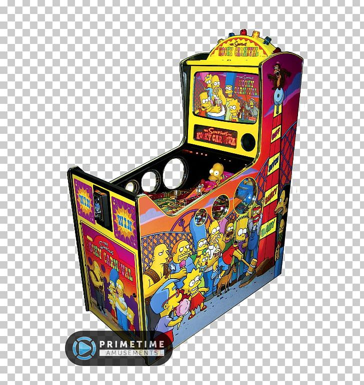 svg black and white download Arcade clipart carnival ride. The simpsons game bowling