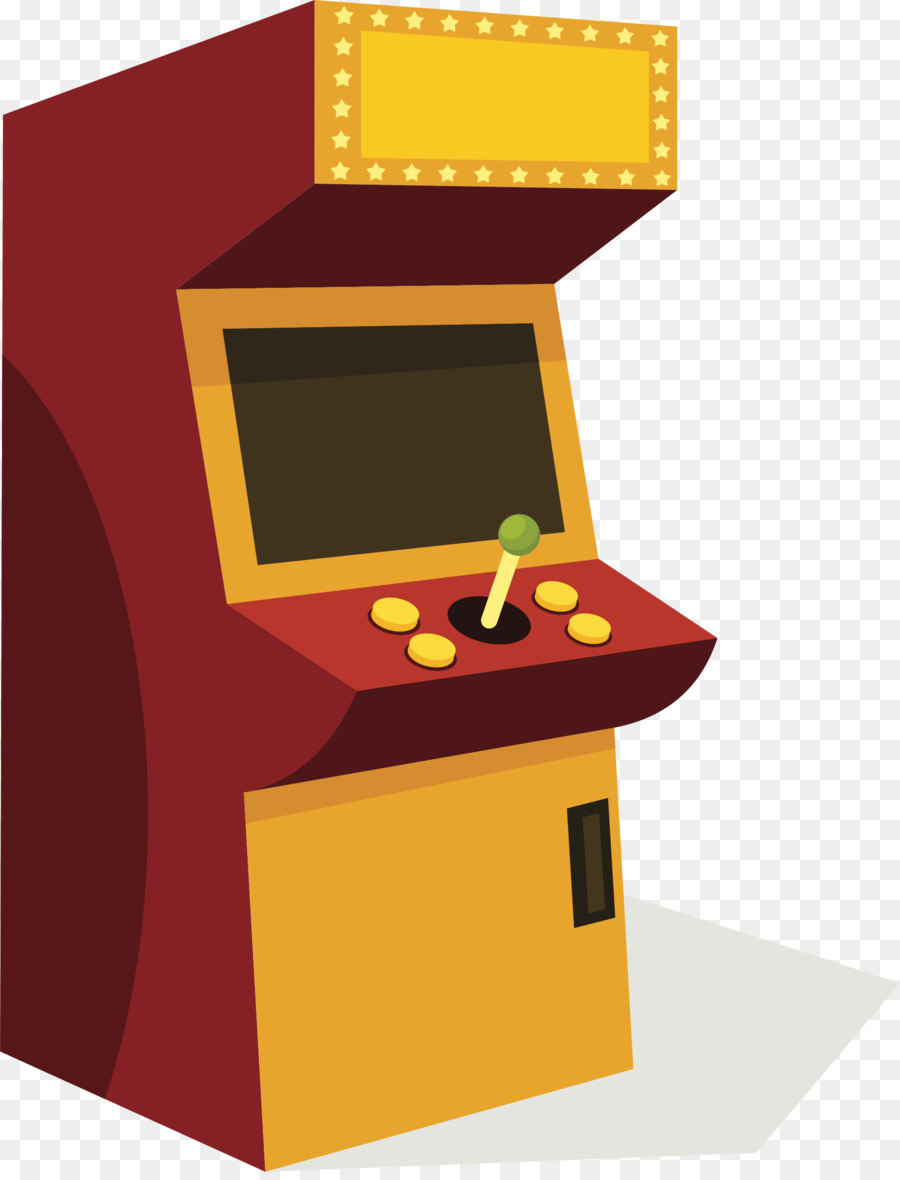clipart freeuse Arcade clipart cartoon. Table game yellow product