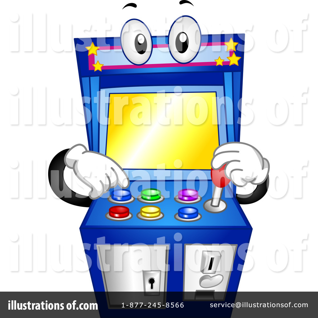 image library stock Game illustration by bnp. Arcade clipart cartoon