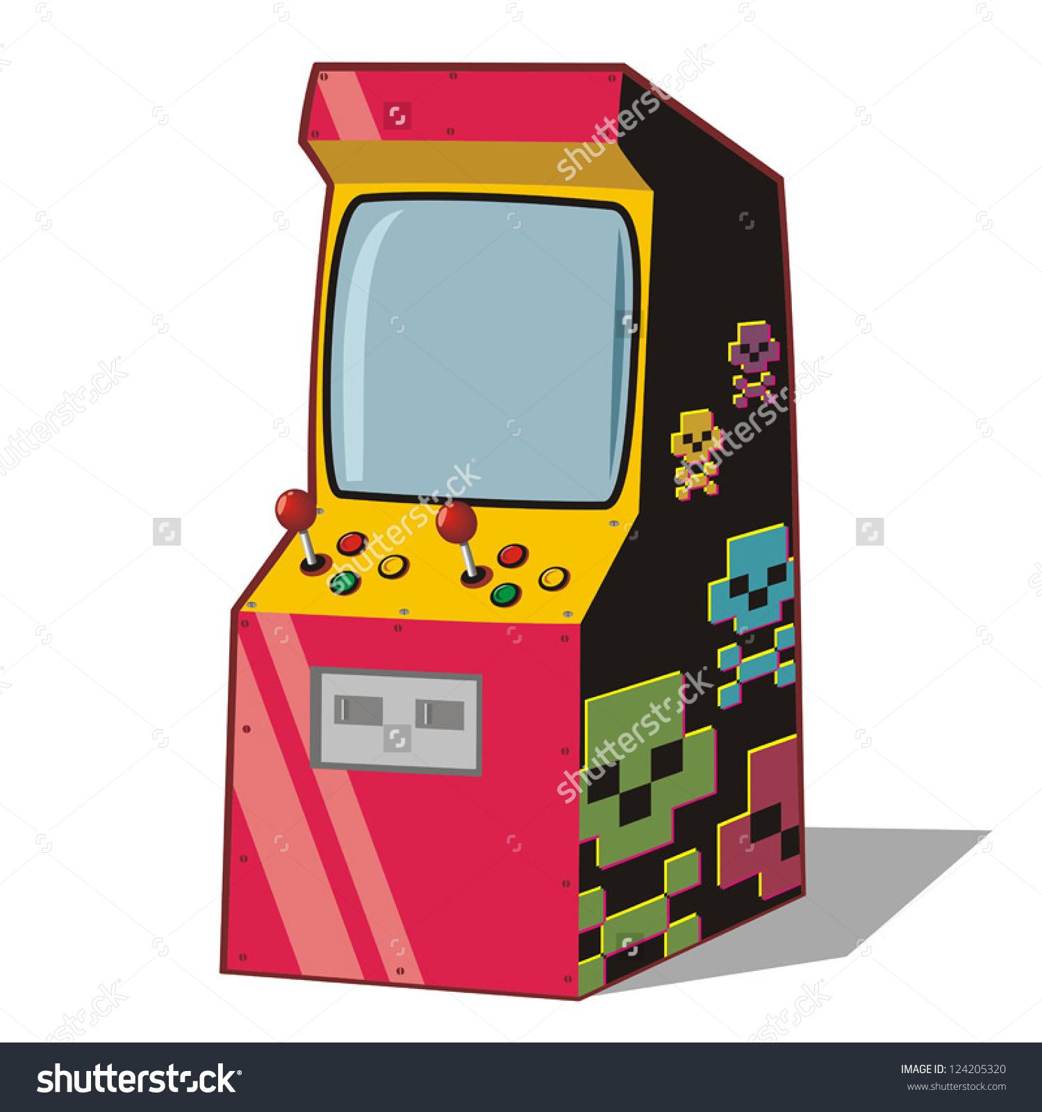 jpg free stock Arcade clipart cartoon. Free download best on