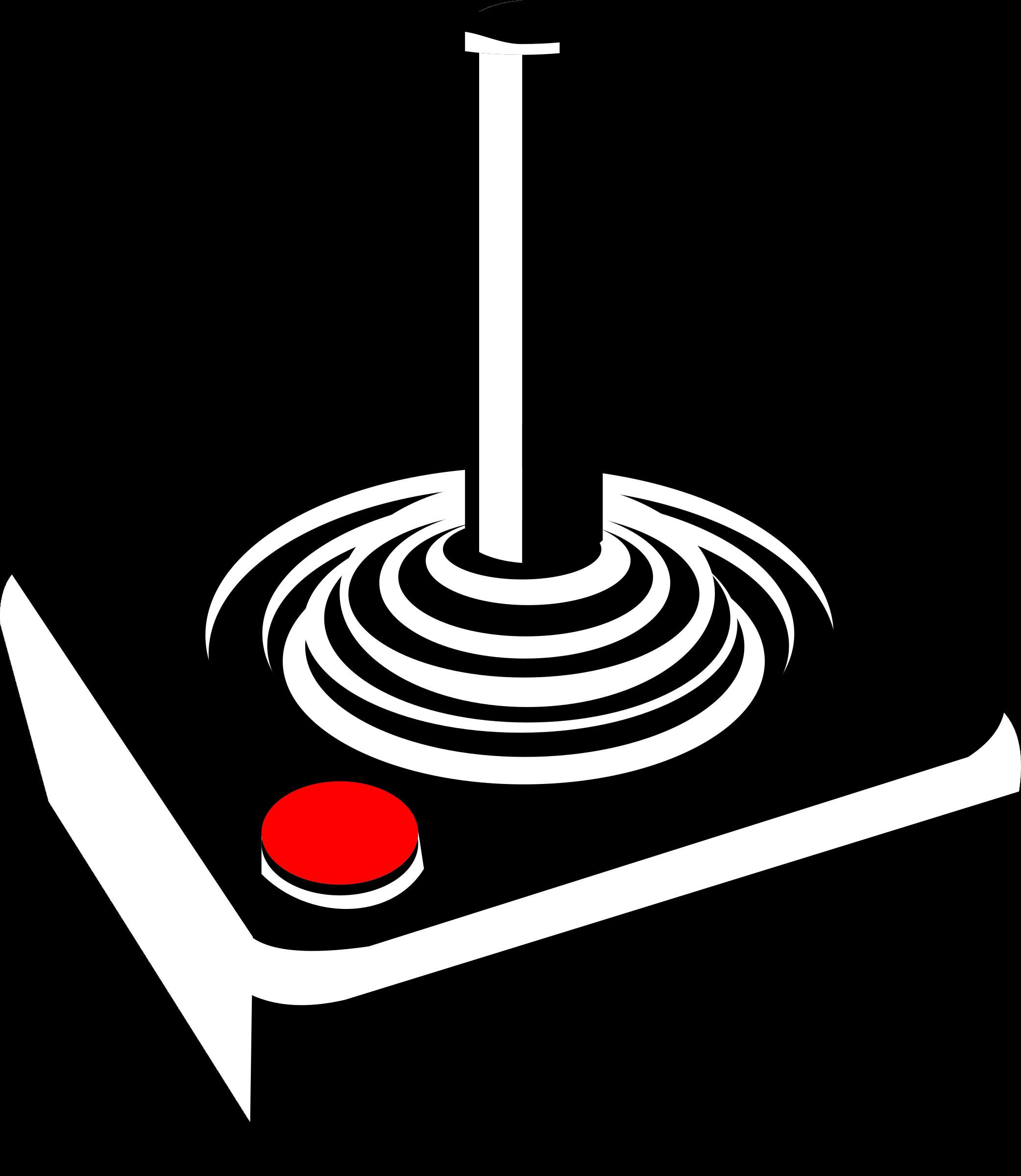 png royalty free download Retro joystick big image. Arcade clipart clip art.
