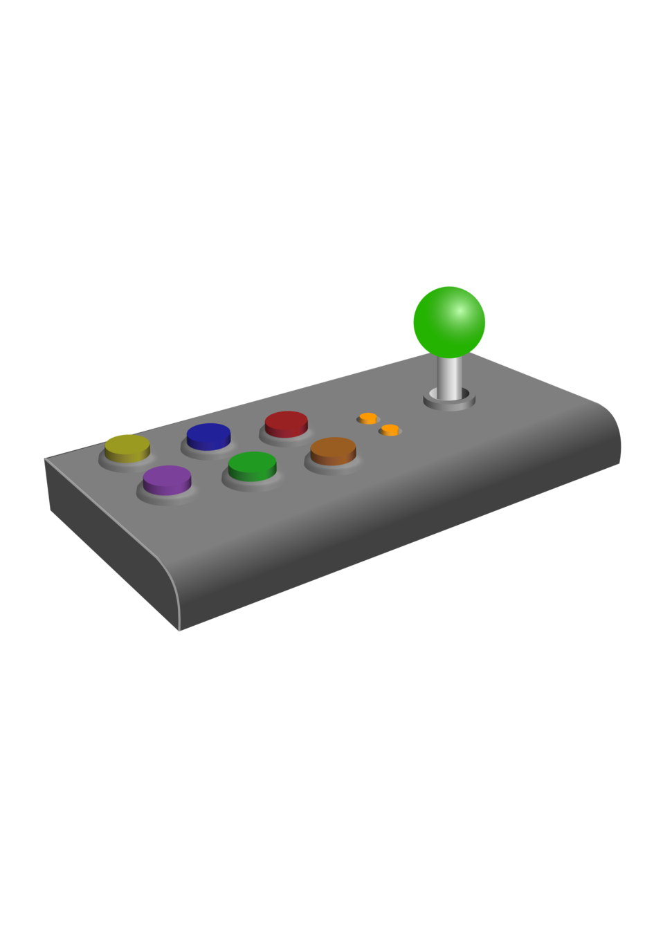 clipart royalty free download Arcade clipart game console. Joystick free on dumielauxepices.