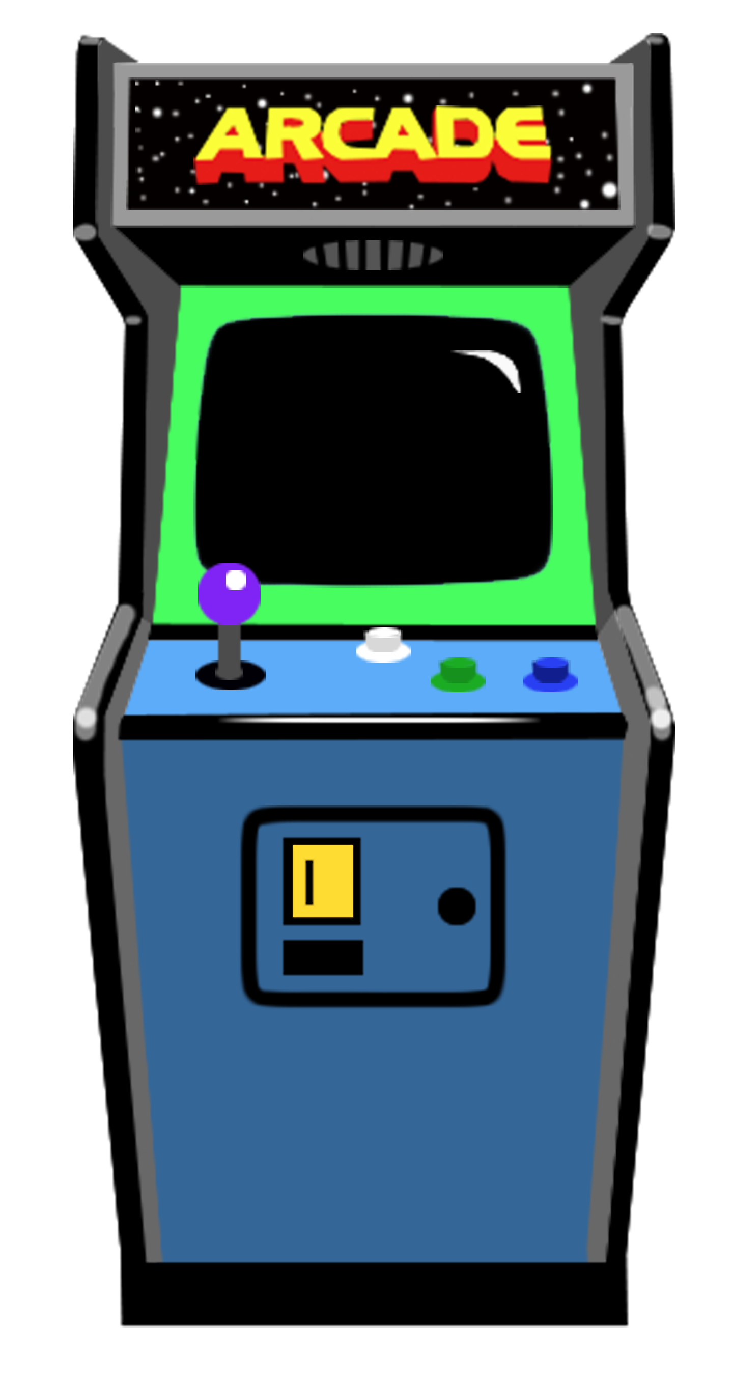 clip library download Arcade clipart game console. Retro vintage machine s.