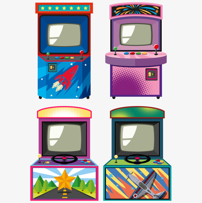 download Transparent free . Arcade clipart game room