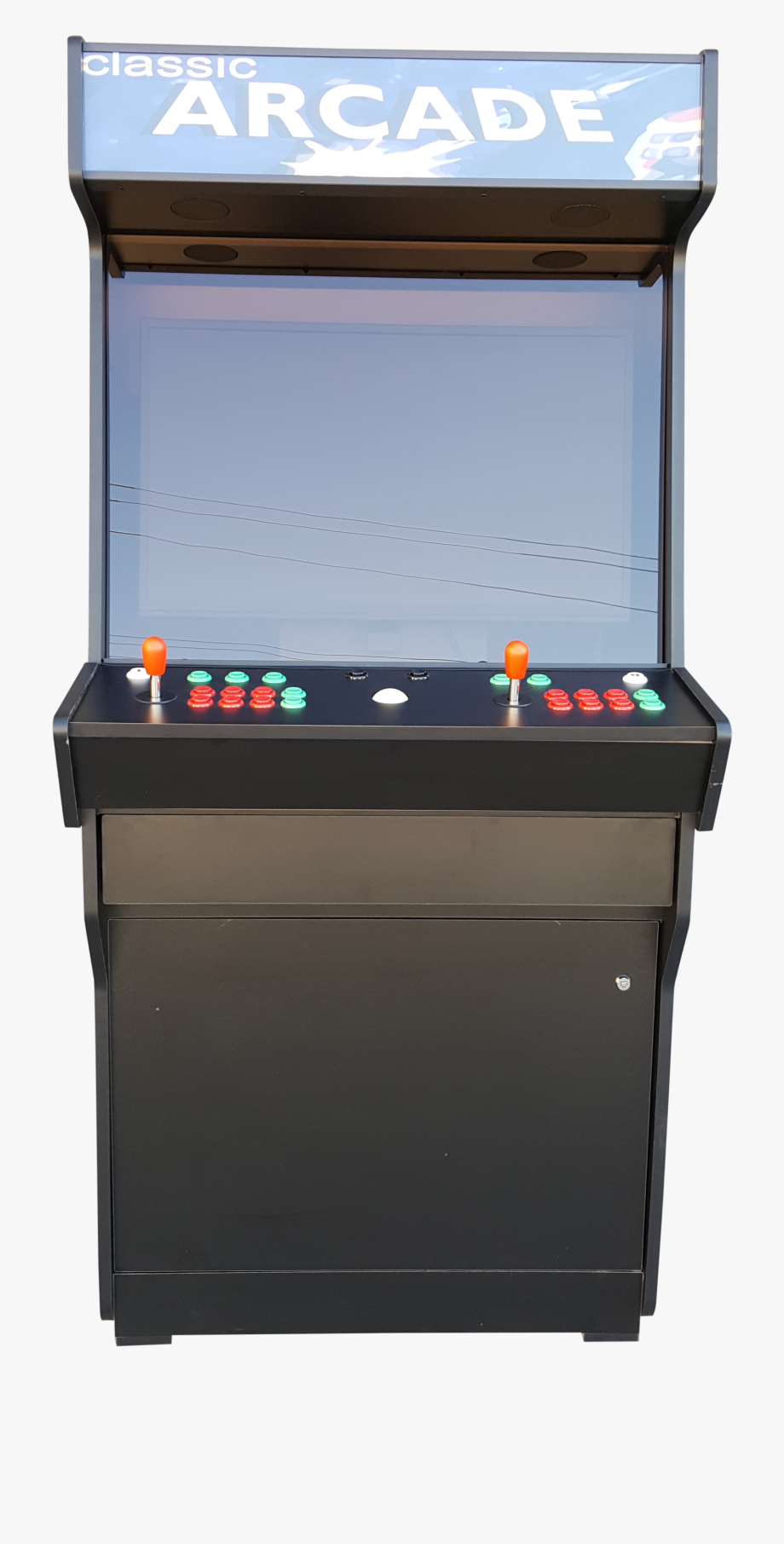 jpg black and white Transparent png . Arcade clipart game room.