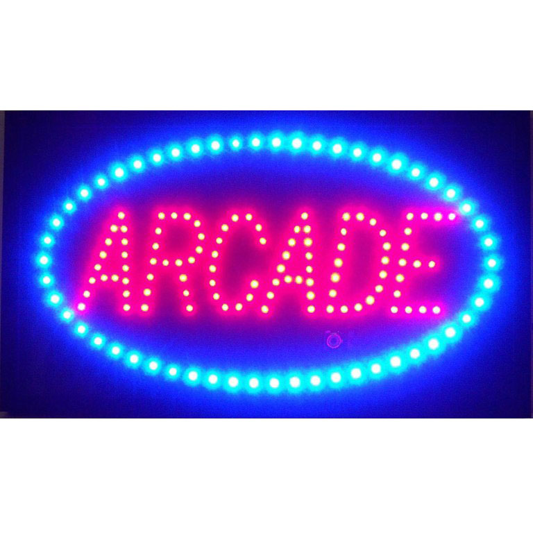 jpg black and white stock Arcade clipart neon sign. Transparent free .