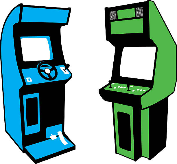 image stock Arcade clipart retro. Free download best on