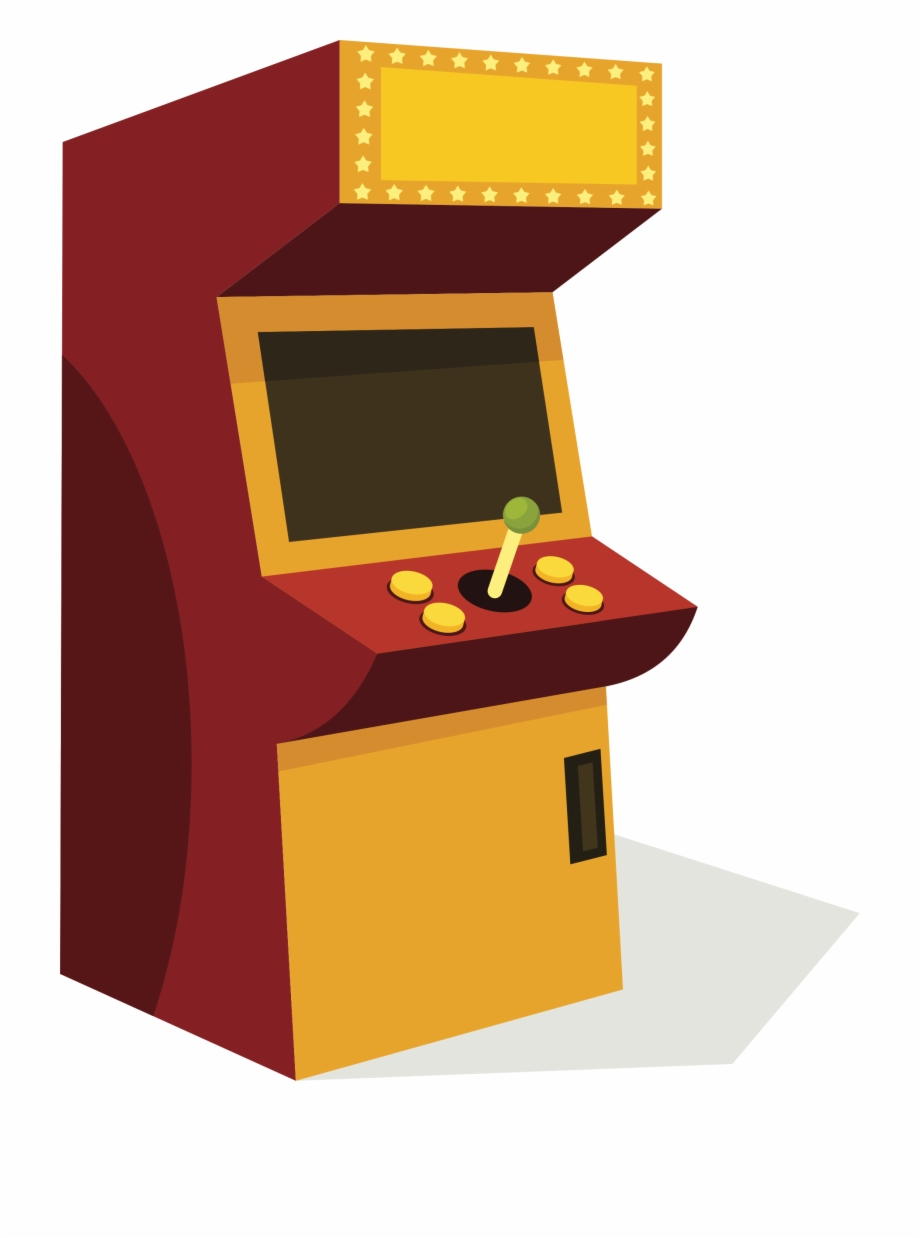 png royalty free download Joystick machine free png. Arcade clipart retro