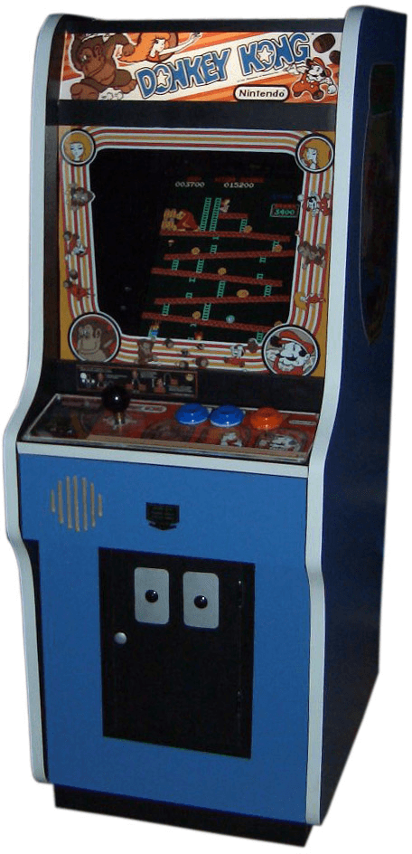svg library Donkey kong transparent png. Arcade clipart retro