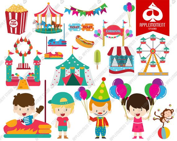 image freeuse Arcade clipart school carnival. Webstockreview