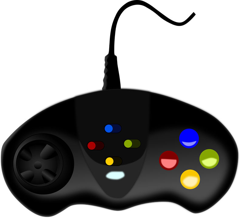 picture black and white stock Arcade clipart vector. Joystick free on dumielauxepices