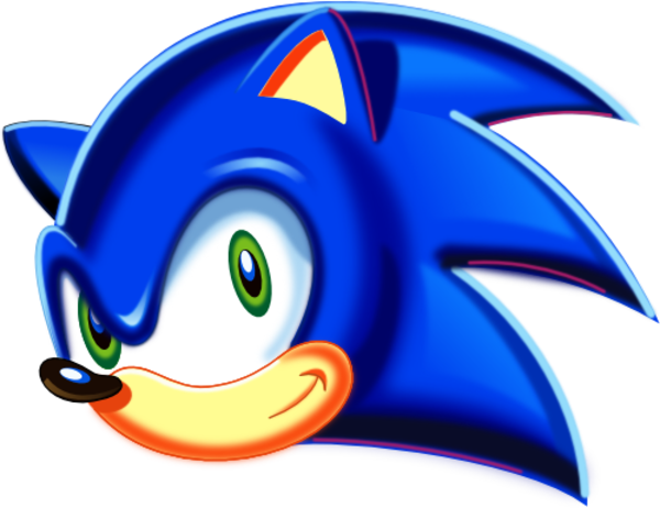 clip free download Arcade clipart vector. Image sonic head png