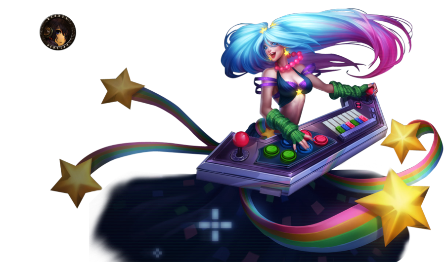 graphic stock Arcade Sona