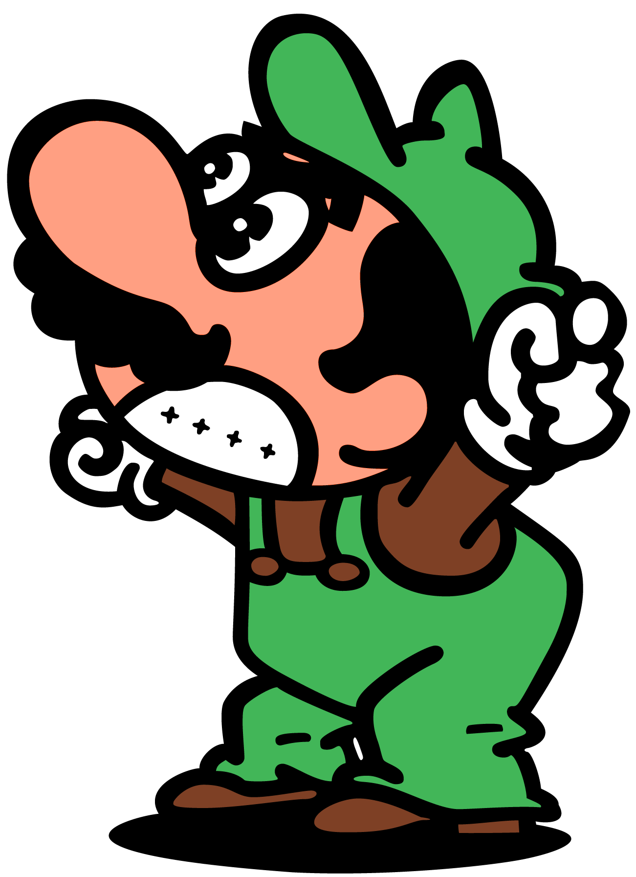 graphic transparent library Luigi mario bros games. Arcade clipart video