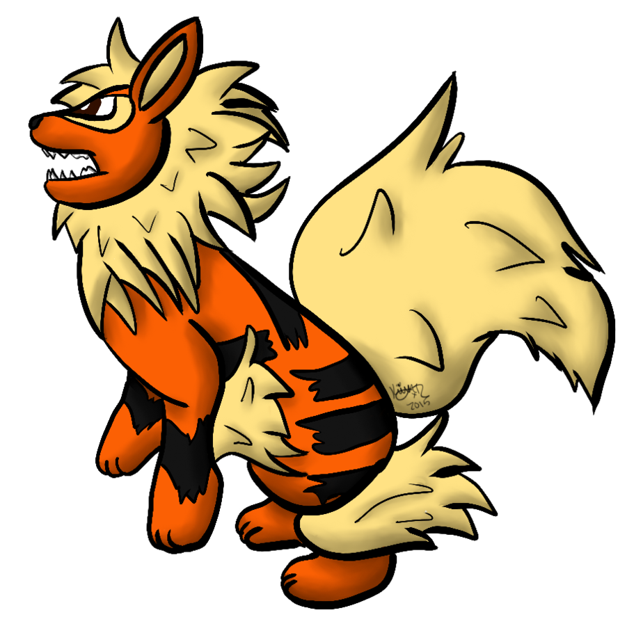 vector stock By ratedrawwr on deviantart. Arcanine drawing