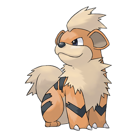 graphic free Growlithe pok mon wiki. Arcanine drawing