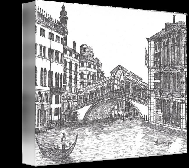 image france drawing bridge #112970837