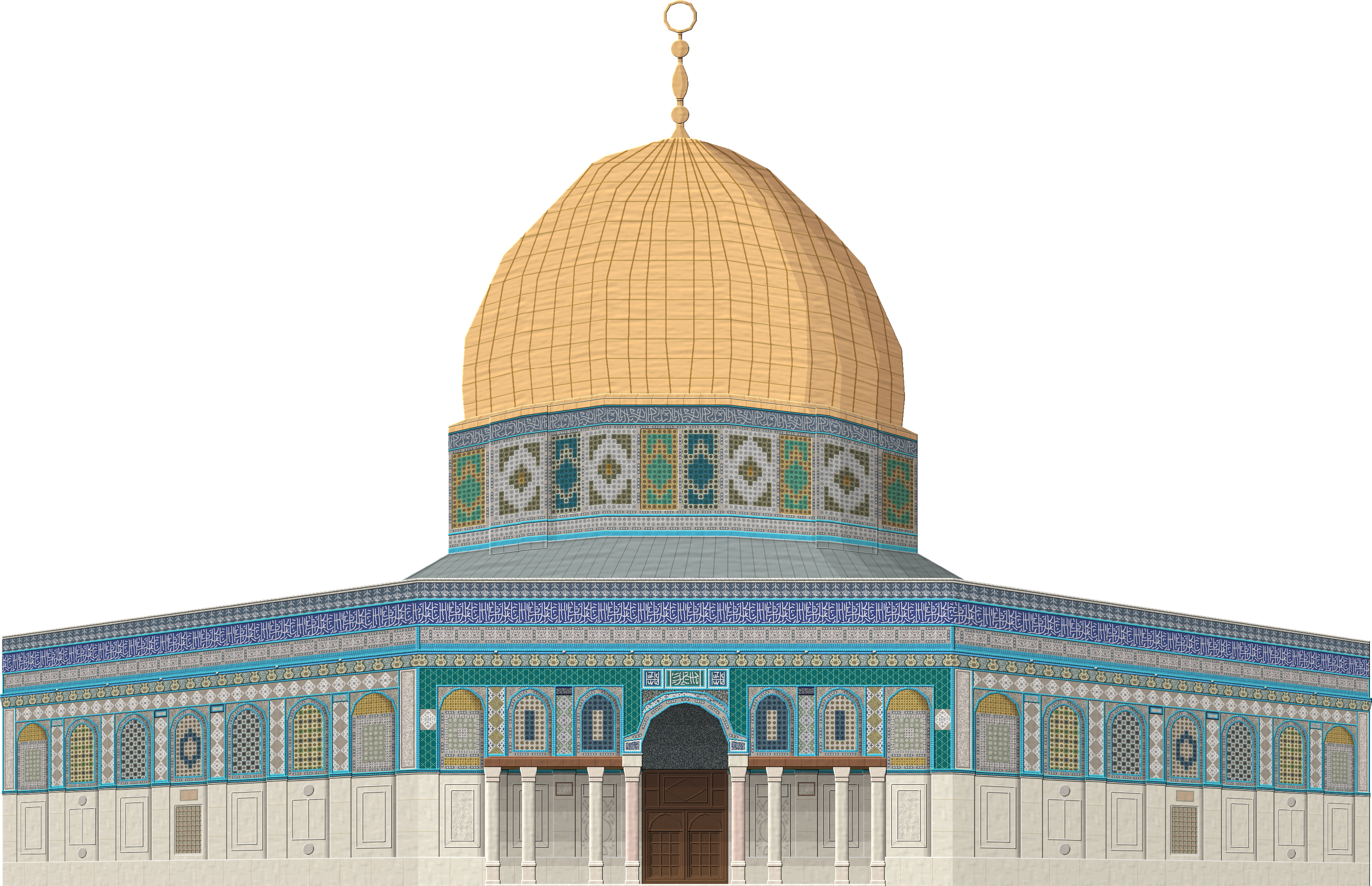 clip freeuse Dome of the Rock by Herbertrocha on DeviantArt