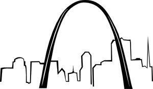 svg royalty free download St Louis Gateway Arch clip art