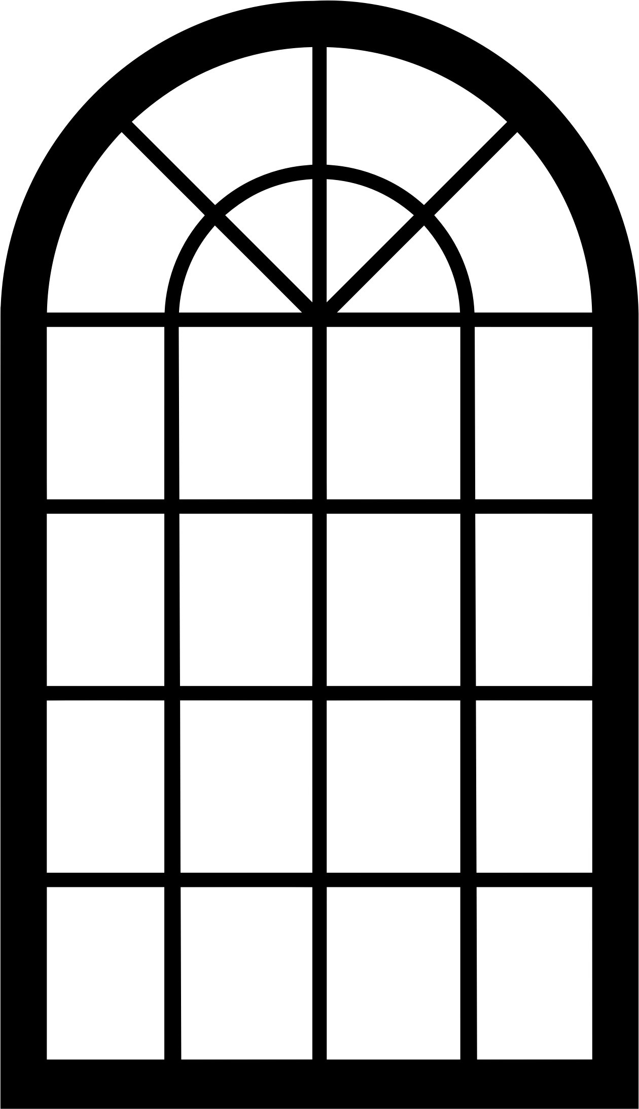 graphic free library windows vector arch window #109117689