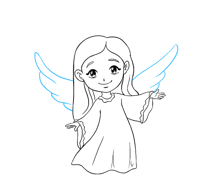 svg freeuse Valkyrie drawing simple. Collection of free archangel
