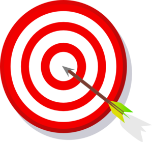 graphic black and white stock Target Clip Art at Clker