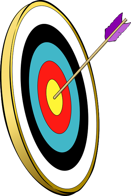 svg freeuse library Bullseye clipart medieval archery. Free image on pixabay