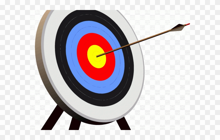 banner transparent download Archery target clipart. Bulls eye clip art.