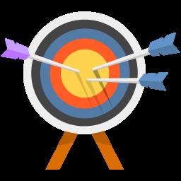 clip art transparent Bullseye icon