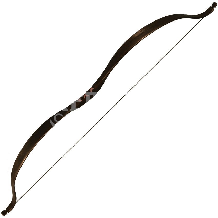 clip transparent library Archery bow clipart. Ready for battle black.